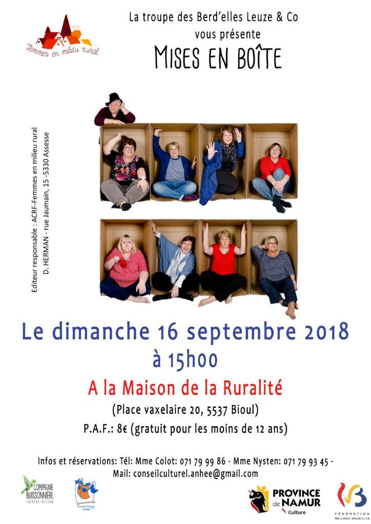 Affiche et flyers 16 09 Bioul