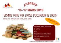 affiche Foire aux livres 2019 Assesse