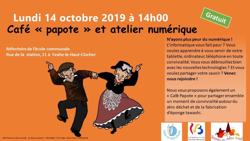 Café papote 14 octobre